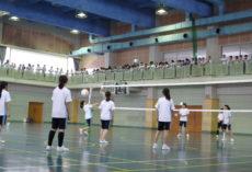 中学球技大会!