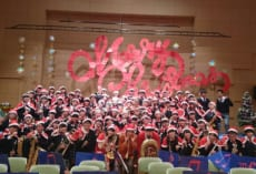 コンサート終了後の記念写真です。