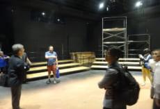 小劇場を思わせる施設もありました。