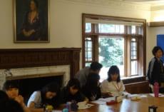 Gracemontの教室の1つ。歴史ある建物の雰囲気が感じられます。