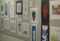 こちらも生徒たちの作品。