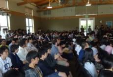 生徒たちの熱演に,会場も大盛り上がりです。