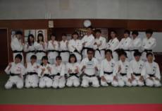 柔道昇段試験合格、黒帯到着!